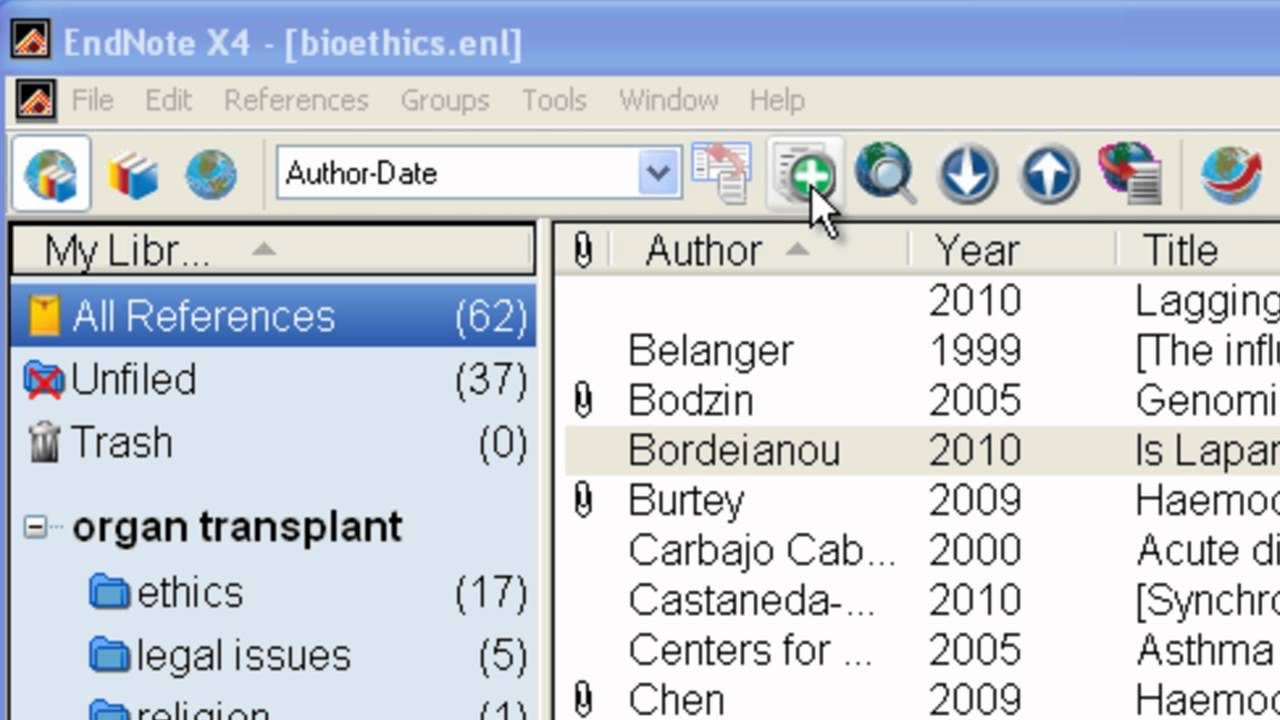 how to remove pdf from endnote library
