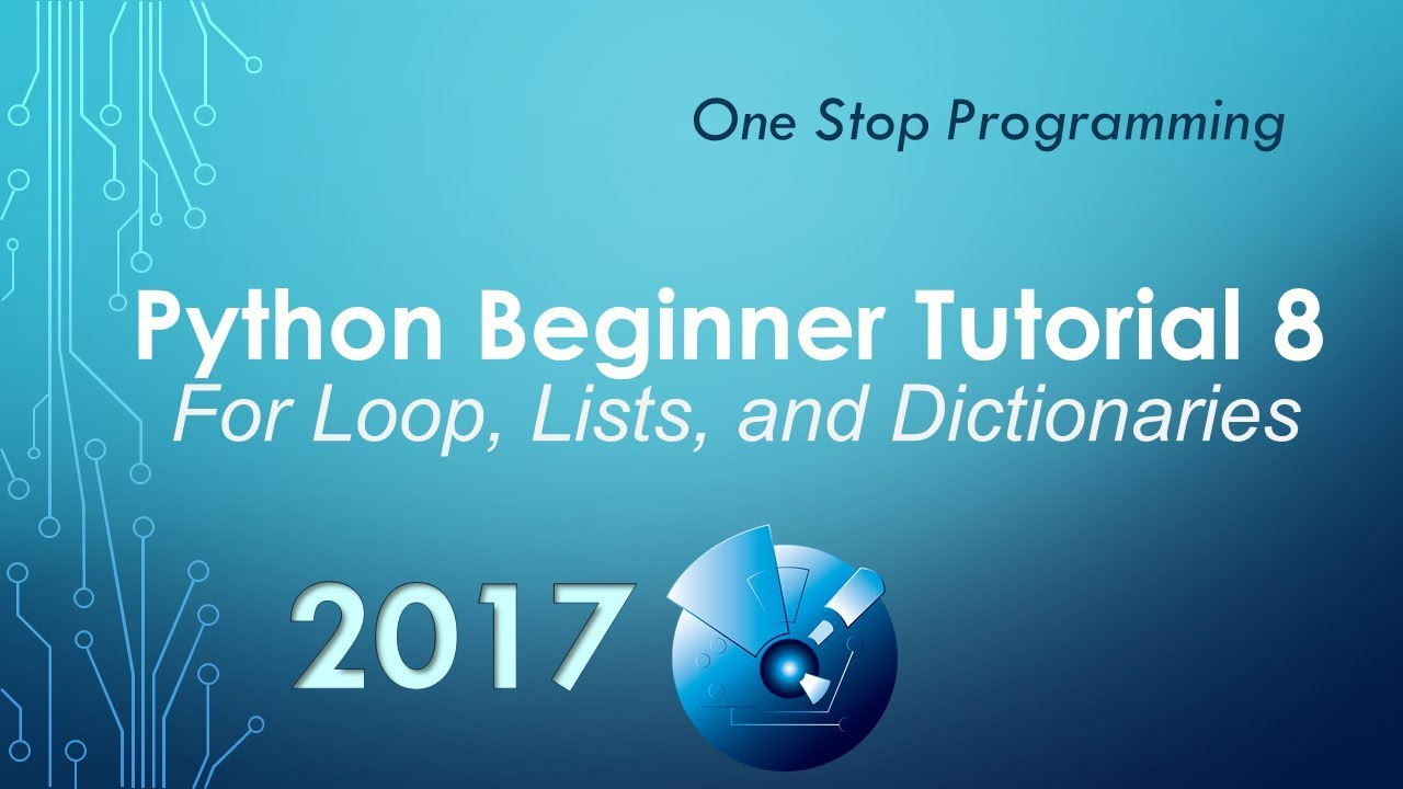 how to use dictionary in python for loop