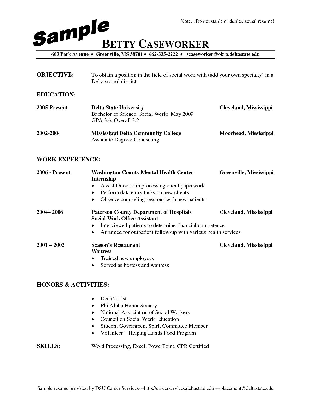 job resume pdf in australia