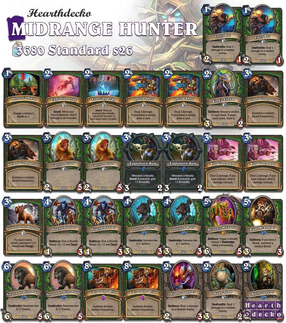 houndmaster guide hearthstone
