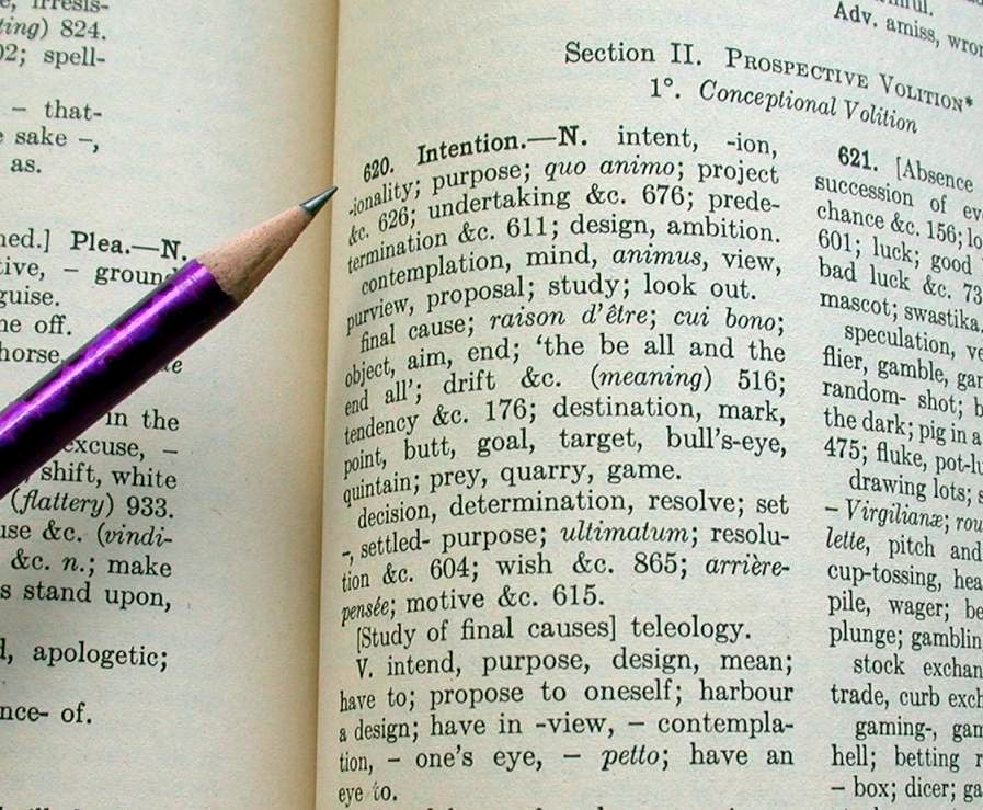 how to make thesaurus out of dictionary