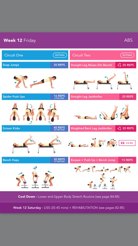 kayla itsines bbg stronger workout pdf