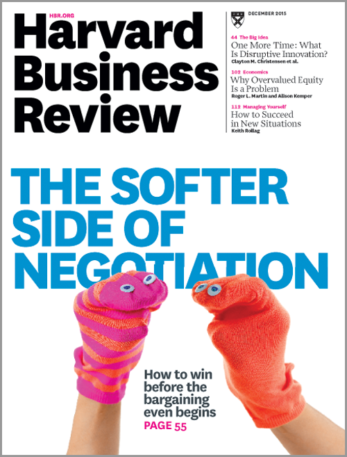harvard business review pocket book negotiation pdf