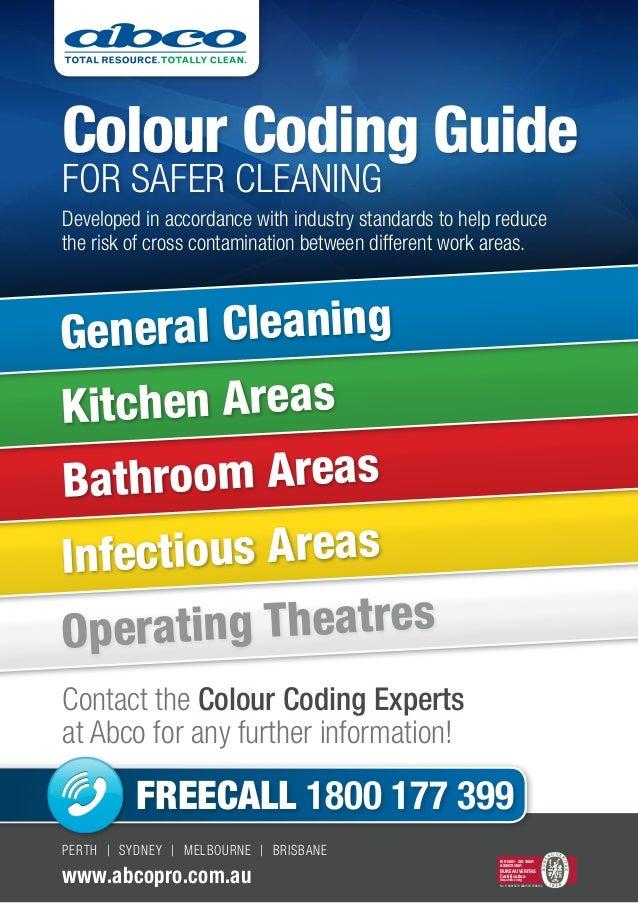 kitchen cloth colour guide