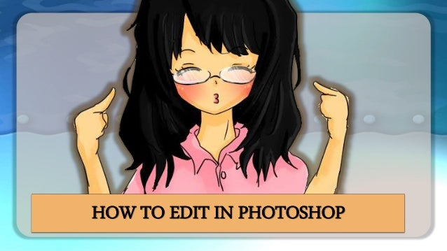 how to edit pdf in photoshop