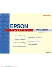 epson esc pos application programming guide
