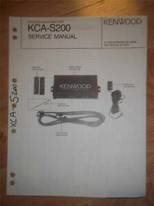 kenwood at 200 manual