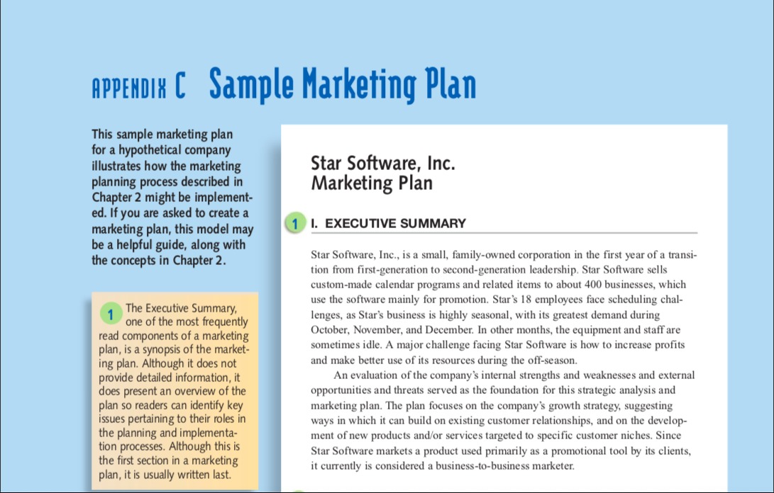 marketing strategy company sample