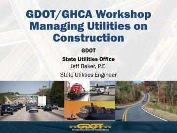 gdot bridge design manual