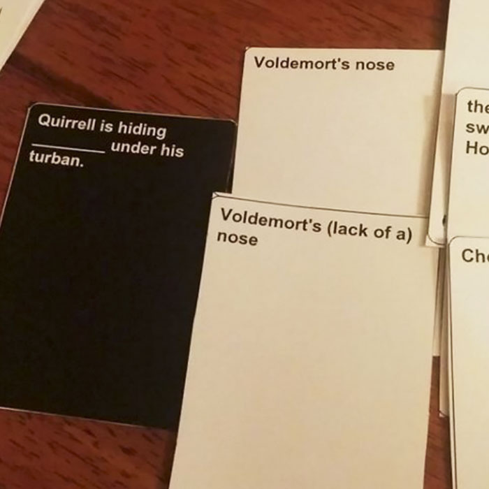harry potter cards against humanity pdf