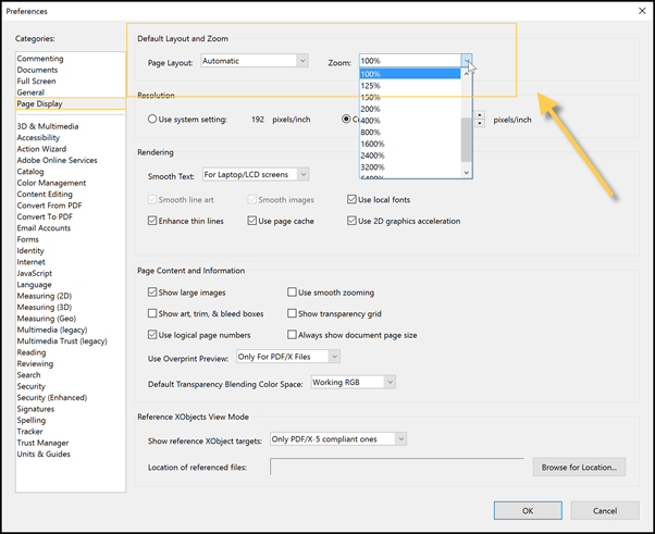 how to set default pdf reader