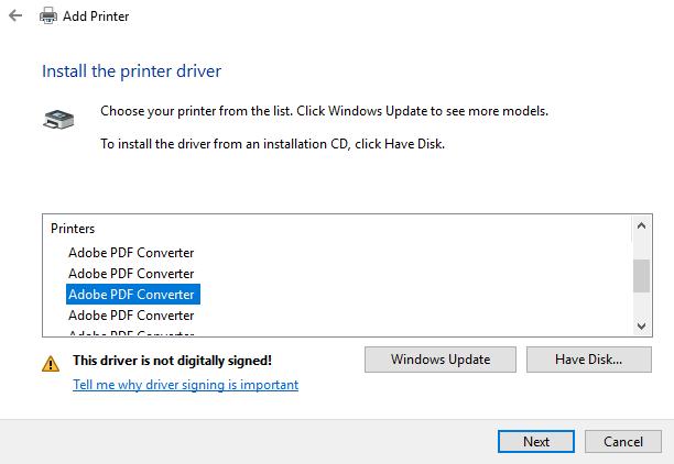 free pdf printer for windows