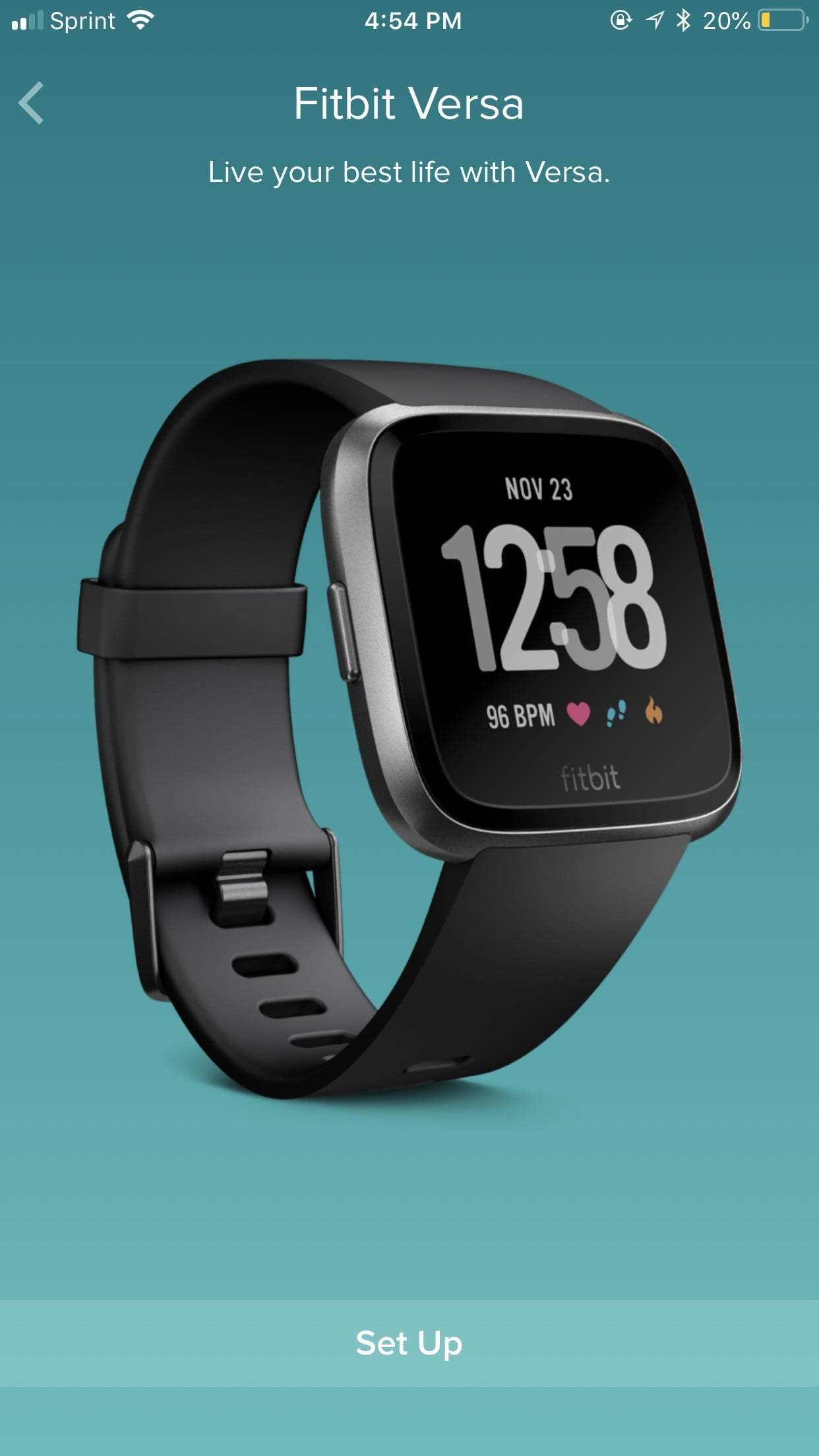fitbit operating instructions