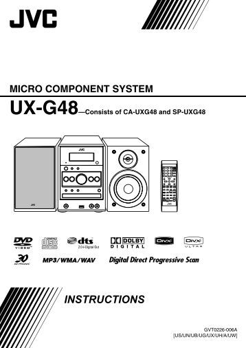 jvc micro component system manual