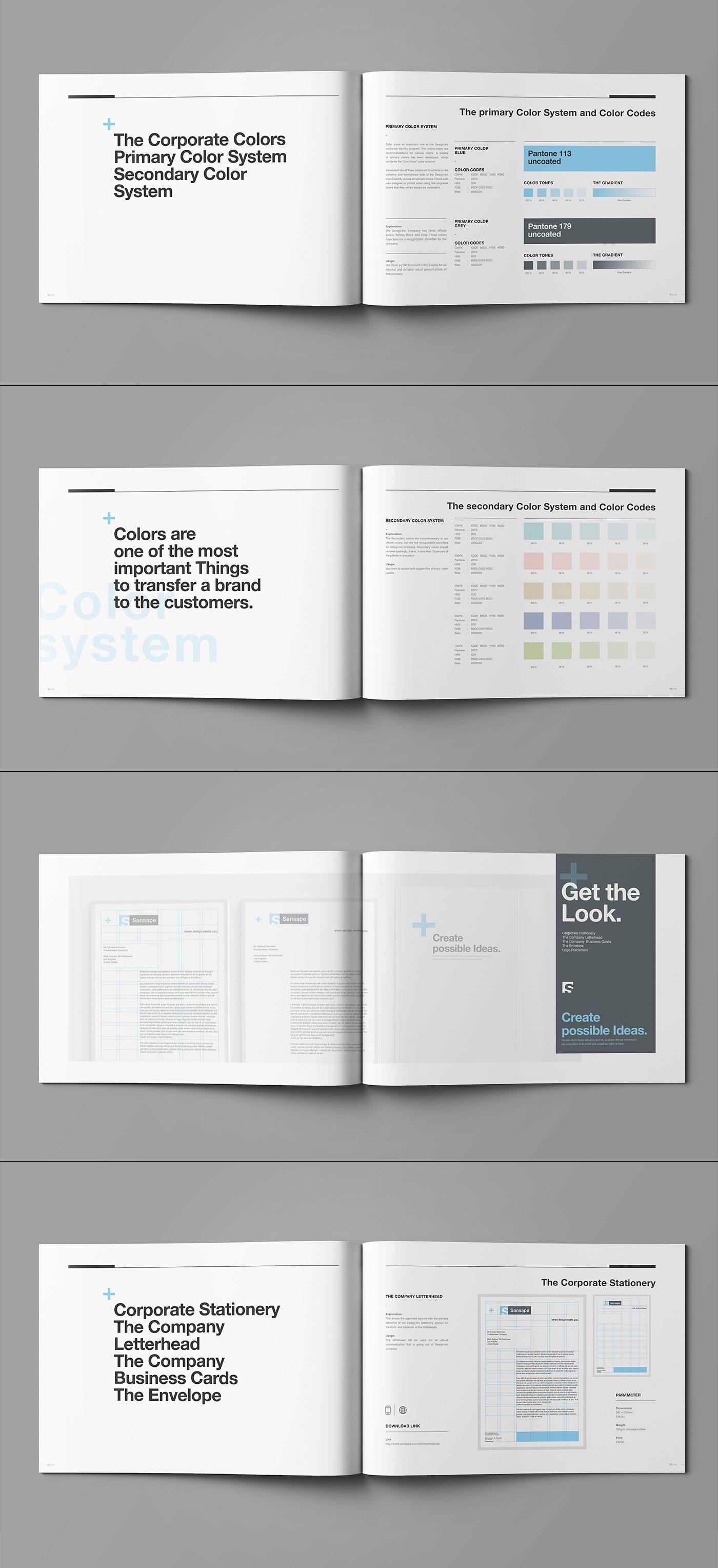 manual template for pages