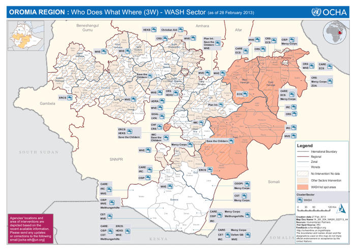map of ethiopia regions and woredas pdf