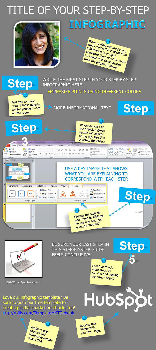 how to create a guide in powerpoint
