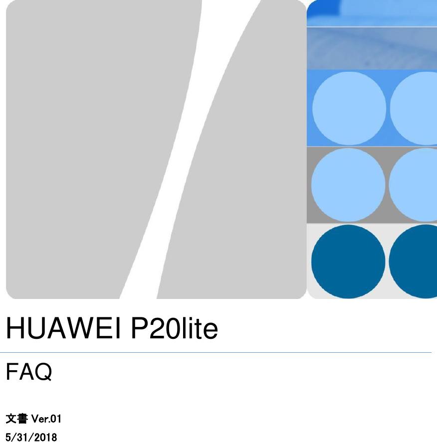 huawei p20 lite user manual pdf