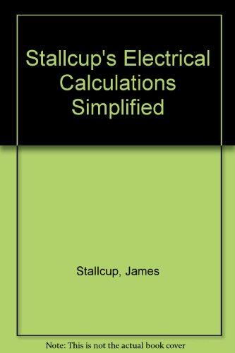 electrical unit calculation formula pdf