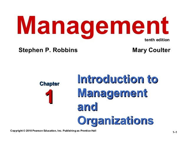 eleventh edition management stephen p robbins pdf