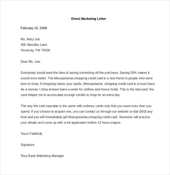email marketing examples pdf