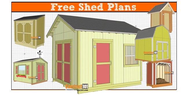 free 8x12 shed plans pdf