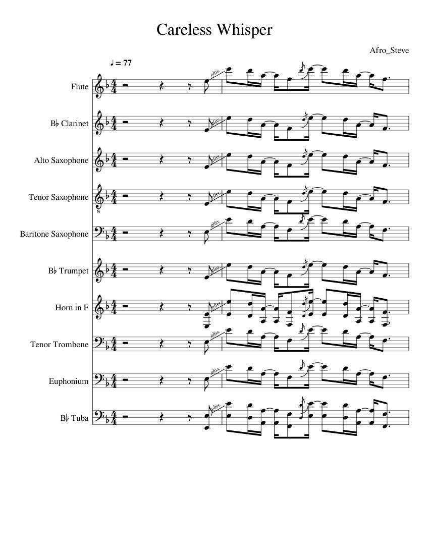 free tenor sax sheet music pdf