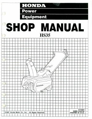 honda small engine repair manual pdf