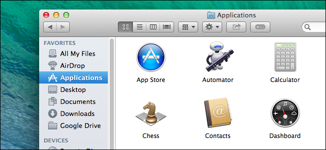 how to find an installed application on mac
