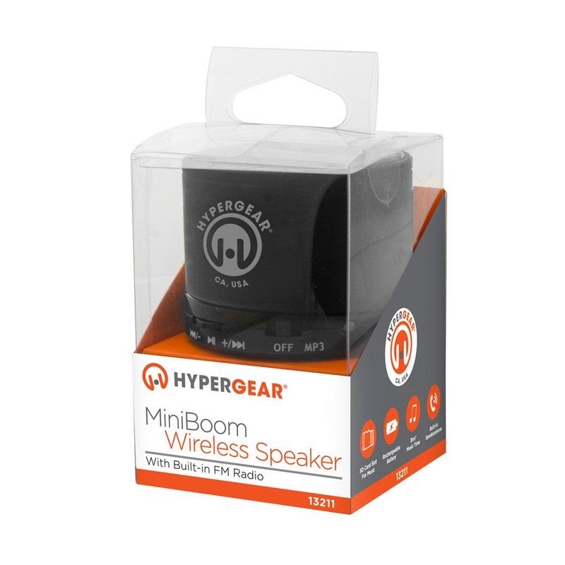 hypergear mini boom speaker instructions