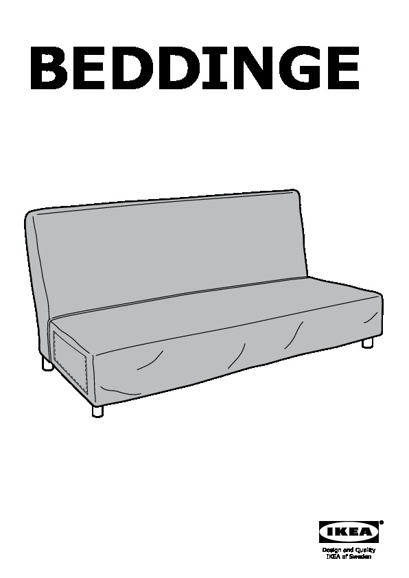 ikea beddinge instructions