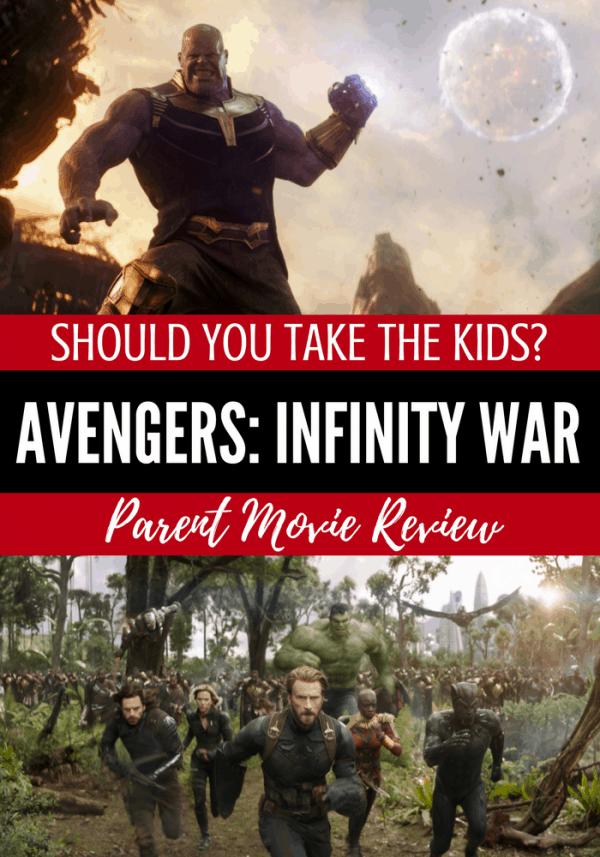 imdb infinity war parents guide