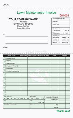 lawn care business plan sample pdf