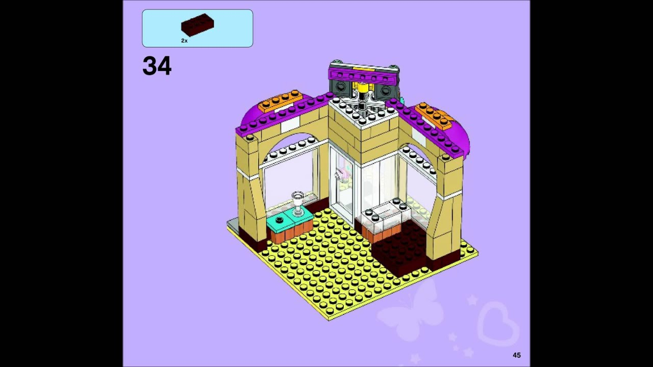 lego friends 41006 manual